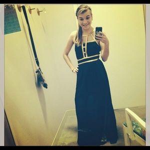 Jealous tomato black maxi dress